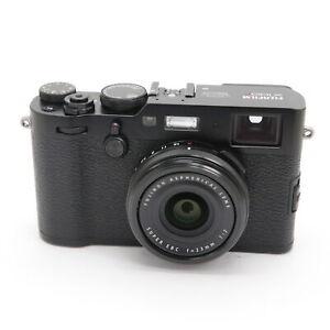 FUJIFILM Fuji X100F Black shutter count 8900 shots