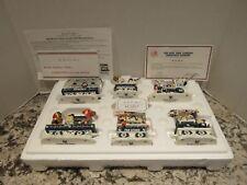 Danbury Mint The New York Yankees Christmas Express Train Set Coa New In Box!