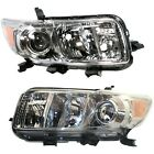 Headlight Set For 2008 2009 2010 Scion xB Left and Right 2Pc