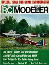 R/C RADIO CONTROL MODELLER MAGAZINE 1973 JAN 1929 VELIE MONOCOUPE, CURTISS ROBIN