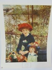 20x17 Print French Pierre Auguste Renoir : On The Terrace Printed Italy Terrasse