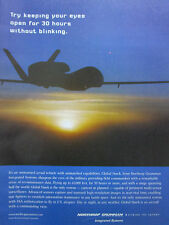 5/2004 PUB NORTHROP GRUMMAN UAV DRONE GLOBAL HAWK USAF ORIGINAL AD