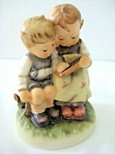 "Goebel Hummel Figurine ""Smart Little Sister"" #346 • Tmk6 • 4 1/2"" Tall • Mint!"