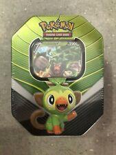 Pokemon TCG Cards Galar Partners Rillaboom V Tin New & Factory Sealed