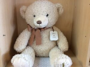 """OWEN HALLMARK TEDDY BEAR PLUSH SOFT BEAR """"A BEST FRIEND"""" SITTING 19 INCHES TALL"""