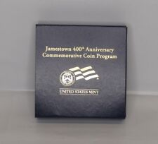 Jamestown 400th Anniversary Commemorative Coin Program Gold $5 Proof (NO COIN)