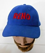 Reno Blue Cotton Snapback Adjustable Trucker Hat Cap 523108708e5b