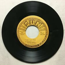 ELVIS PRESLEY That's All Right Sun EP 100 NM re Degritter