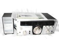 1970's REALISTIC SX-190 shortwave receiver & SP-150 speaker Ham CB Radio/Manual