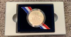 2002-W U.S. Military Academy Bicentennial UNC Silver Commemorative Coin OGP