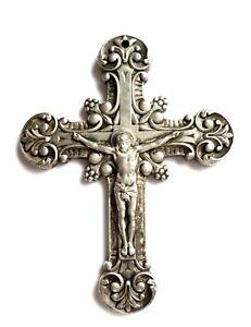 Hand Held Metal Cross Crucifix Jesus Christ  Православный нательный Крест