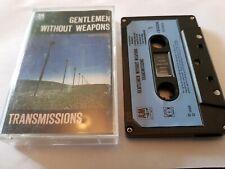 Gentlemen Without Weapons - Transmissions (Cassette Album) Paper Label