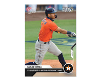 Carlos Correa - MLB TOPPS NOW Card 364 - 1st SS ever with 2+ multi-hr postseason