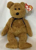 TY Original Beanie Baby Fuzz Bear 1998/99 Retired Errors On Tags