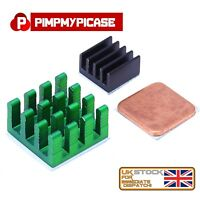 Raspberry Pi 2/3/4  3 Piece Aluminium and Copper Heat Sink Adhesive Cooling Kit