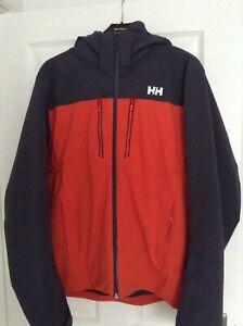 Helly Hansen Mens Signal Ski Jacket Size Medium Grenadine
