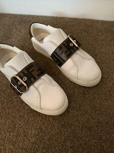 Fendi Zucca Sneakers Size 39