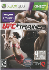 UFC PERSONAL TRAINER ULTIMATE FITNESS SYSTEM (2011) XBOX 360 GAME NEW SEALED