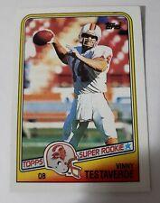 Vinny Testaverde Tampa Bay 1988 Topps Rookie #352