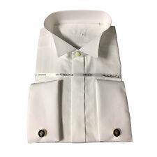 RODRIGO chemise homme smoking poignet boutons de manchette 100% cotone 17-43