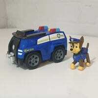 Paw Patrol Police Rescue Chase Pup Figure And action  Vehicle
