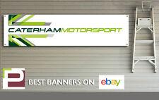 Caterham Motorsport Banner for Garage, Office, Superlight R300, R400, R500, R620