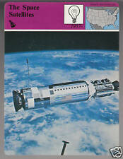 THE SPACE SATELLITES AGENA Aldrin Story of America CARD