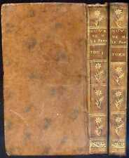 OEUVRES DIVERSES de Monsieur L* F**** [Lefranc de Pompignan], 1753 - Gravures