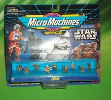 STAR WARS MICRO MACHINES ENDOR FOREST MOON EWOKS  9 PC MINI FIGURE SET