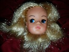 VINTAGE BLONDE SINDY DOLL Head Only High Color 2 GEN 1077 033055X