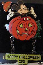 Disney Disneyland Halloween Mickey Mouse Jumping out of a Pumpkin Pin