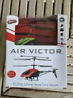 New Wham-O Air Victor 2ch Mini Infrared Remote Control Green Helicopter