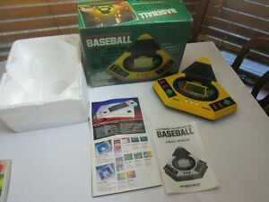 COMPLETE Electronic TALKING Baseball Play By VTech Vintage 1987 Clean TESTED +++