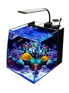 7.5-Gallon Saltwater Aquarium Marine Fish Tank Reef Tank, Protein Skimmer, etc,
