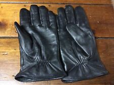 Mens Black Soft Leather Gloves 3M Thinsulate Insulation ** Outdoor Plus **