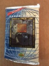 1993 Upper Deck USA World Cup Soccer 1 Unopened Pack- Factory Sealed