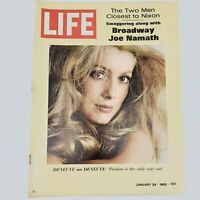 Vintage LIFE January 24, 1969 KATHERINE DENEUVE, JOE NAMATH Vol 66 No 3