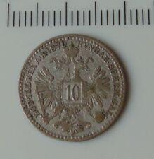 monnaie argent 10 kreuzer 1870 autriche