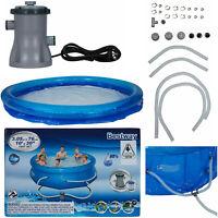 Bestway Swimming Pool Above Ground Pools Fast Set Splish Splash Inflatable AU