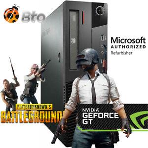 Gaming Desktop PC 1TB 1030 2GB DDR5 HDMI 3.2Ghz 16GB RAM WiFi Win 10 Computer