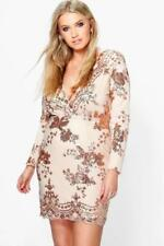 Christmas Stretch Plus Size Dresses for Women