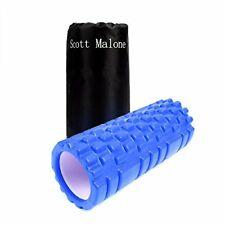 Scott Malone Foam Roller With Carry Bag for Deep-Tissue Massage