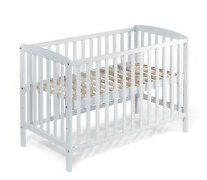 Babybett Beistellbett Gitterbett MIA 120x60 cm BUCHE