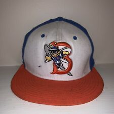 Binghamton Mets Bees Nike Dri-Fit Minor League Baseball Stretch Fitted Hat Small