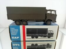 A RARE Lion car Daf 2800 army military leger no 65 made in Holland green boxed