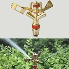 "1/2"" Garden Sprinkler Zinc Alloy Rocker 360°Rotary Lawn grass Water Sprinkler"