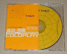 Coldplay Trouble Taiwan Ltd Promo 1 Track CD Single RARE Kaleidoscope