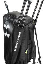 Brand New Under Armour Converge Baseball Duffle Bag Black
