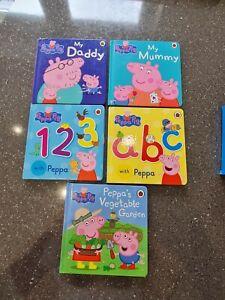 Peppa Pig Board Books Selection, 5 books