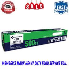 Daily Chef Heavy Duty Food Service Foil 500 Ft Heavy Duty Aluminum Foil 18 X 500